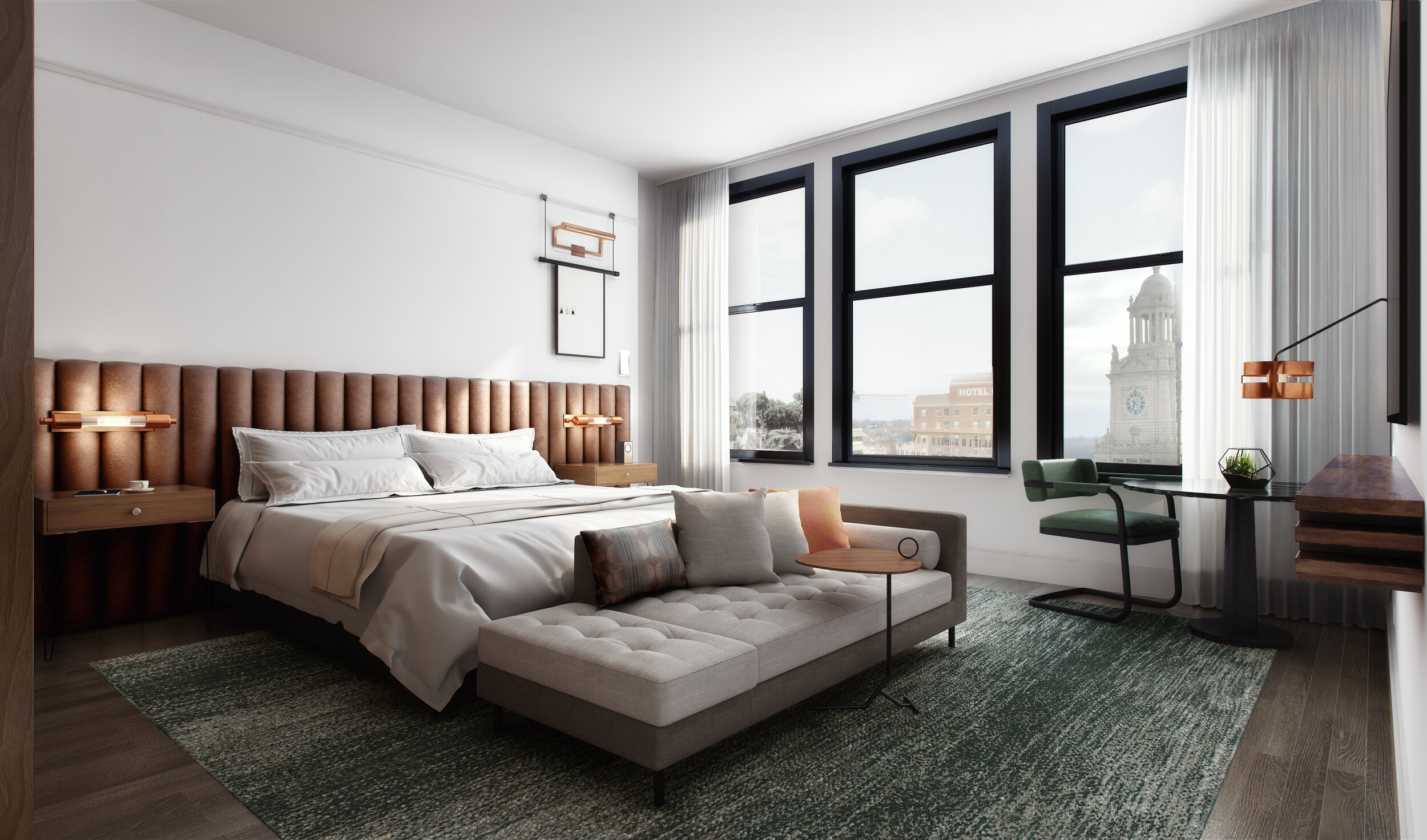 Des Moines Hotel Bedroom