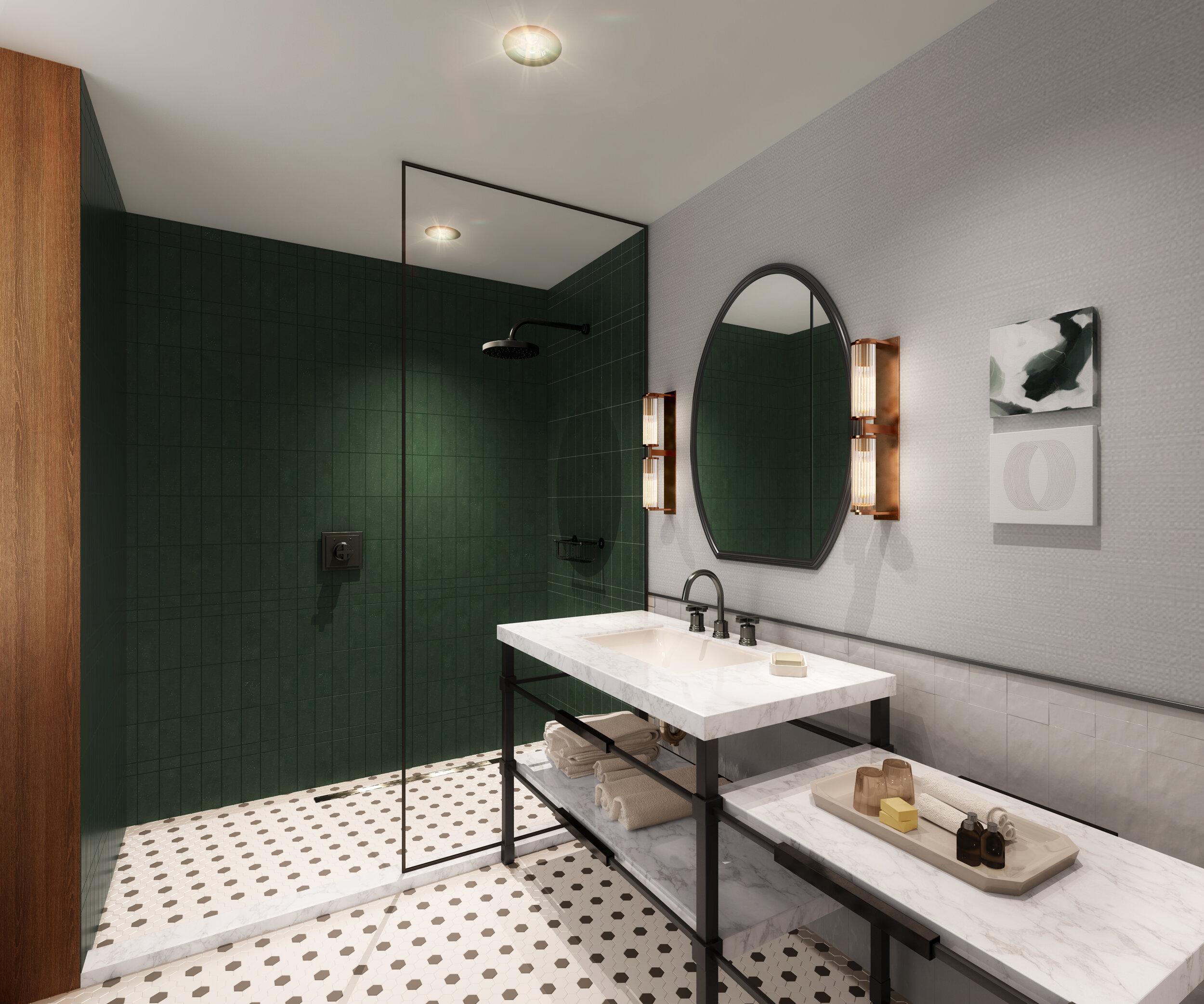 Des Moines Hotel Bathroom