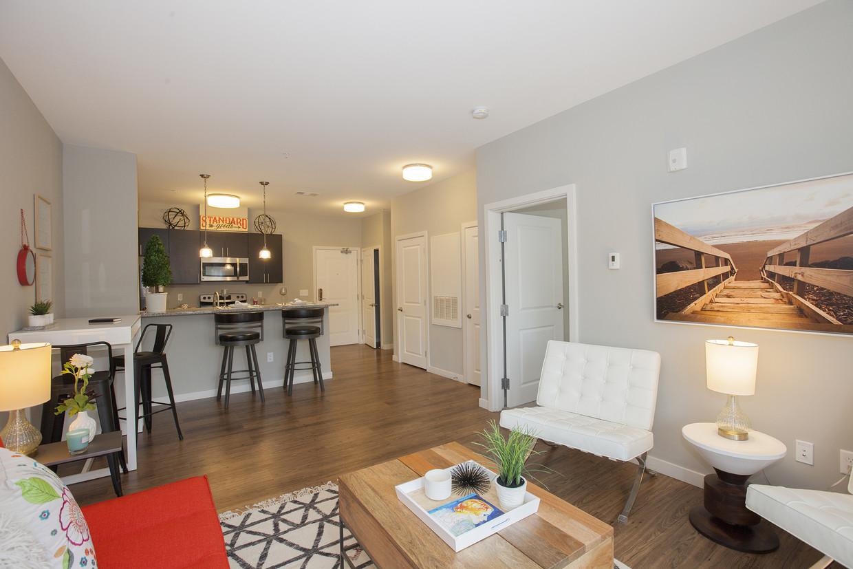 Windsor Station Apartments Living Room